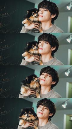 KIM TAEHYUNG THATS MY DOG