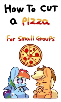 How to eat pizza pony style