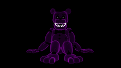 Neon ish Shadow Freddy