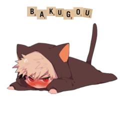 Little grumpy Bakugo D