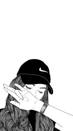 Anime tomboy girl