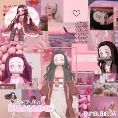 Nezuko Kamado aesthetic computer requested original