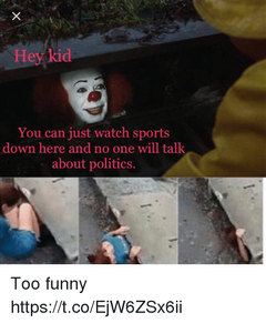 welp this kid is down there not really