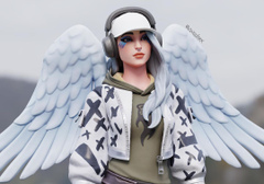 intergram fornite angel girl