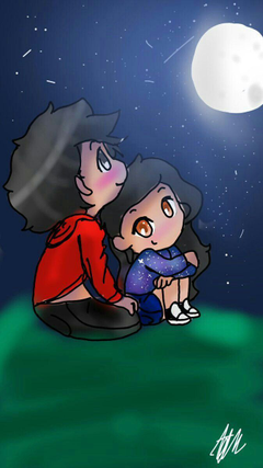 my favorite pic of aphmau and aaron