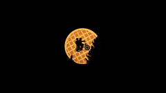 Riding by the waffle moon