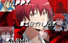 Happy Birthday Karma Akabane