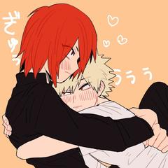 I love hugging Kirishima 3