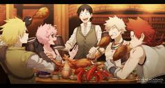 Having a nice feast