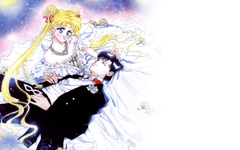 Sailor Moon and Tuxedo Mask Wallpapers