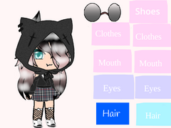 my other gacha oc dont worry whats on the side