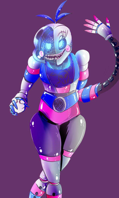 FNAF 6 FUNTIME CHICA