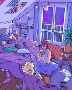 sleepover playing cards