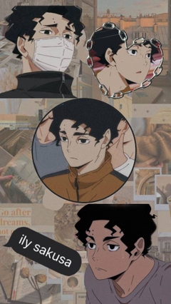 Sakusa collage I made this
