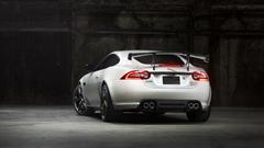 Behind The Jaguar