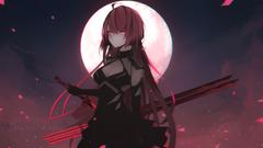 Crimson In The Moon