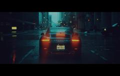 Dramatic Cinematic Style Porsche Desktop Wallpaper