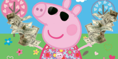 peppa being rich meme