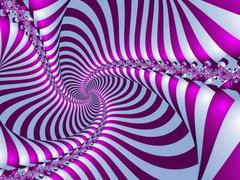 twist texture purple and white