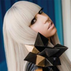 Lady Gaga Poker Face Photoshoot