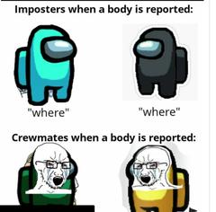Imposters vs Crewmates