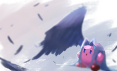 sephiroth kirby with no sword