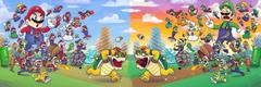 mario and luigi destroy bowser