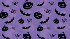 Halloween Purple PS4Wallpapers
