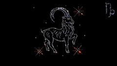 Capricorn from precious stones wallpapers and image