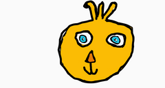 my chica drawing i drew