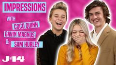 Sam Hurley Gavin Magnus And Coco Quinn Do Celebrity Impressions