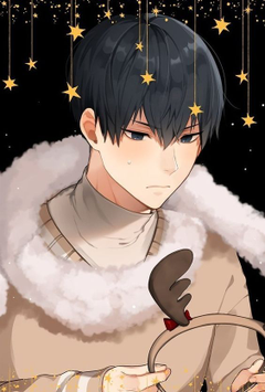 KAGEYAMA WITH THE CASUAL OUTFIT