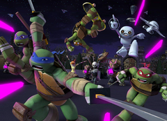 NYCC 2015 Turtles in Space Crossovers Previewed for Teenage