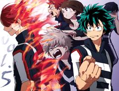 Anime Boku No Hero Academia Katsuki Bakugou Tenya Iida Eijirou