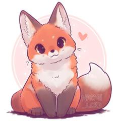 Lovey Fox Orange