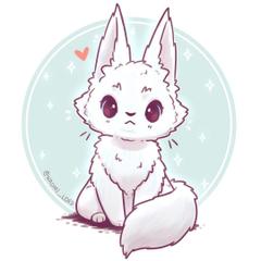 Lovey Fox White