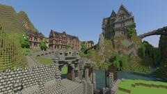 Minecraft Mansions Screenshots Wallpapers HD Desktop and