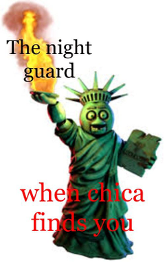 When chica finds you Original