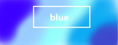 Part Of Colour Blue Wallpaper