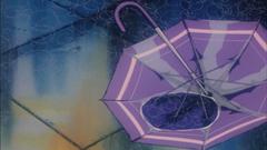 Aesthetic Umbrella in the Rain