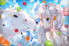Fruit with Polar Bear