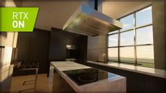 MinecraftRtx kitchen