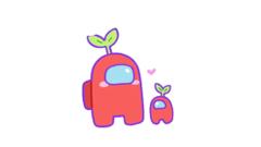 Red Plant Crewmates