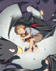 kid hawks and tokoyami