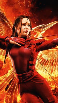 Jennifer Lawrence The Hunger Games Mockingjay Part 2 1080x1920