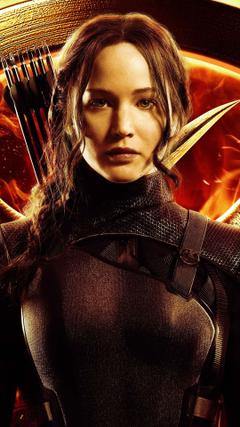 Jennifer Lawrence in Hunger Games Mockingjay