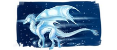 Winter the IceWing by Biohazardia