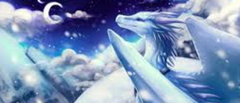Spire the IceWing by Biohazardia