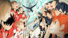 Anime Haiky Haikyuu Nekoma High Karasuno High Wallpapers