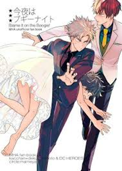 give me one reson why the heck is bakugo runing with deku in a dress and icy hot chaseing them